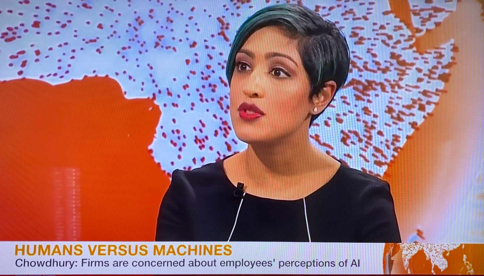 BBC World Interview: AI and the Future of Work