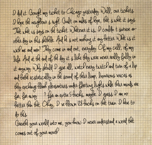 Last diary entry.