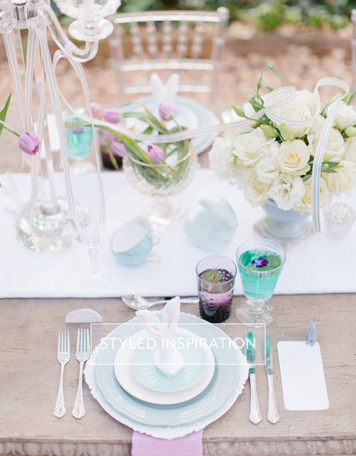 Mint Pink Styled shoot | Rensche Mari