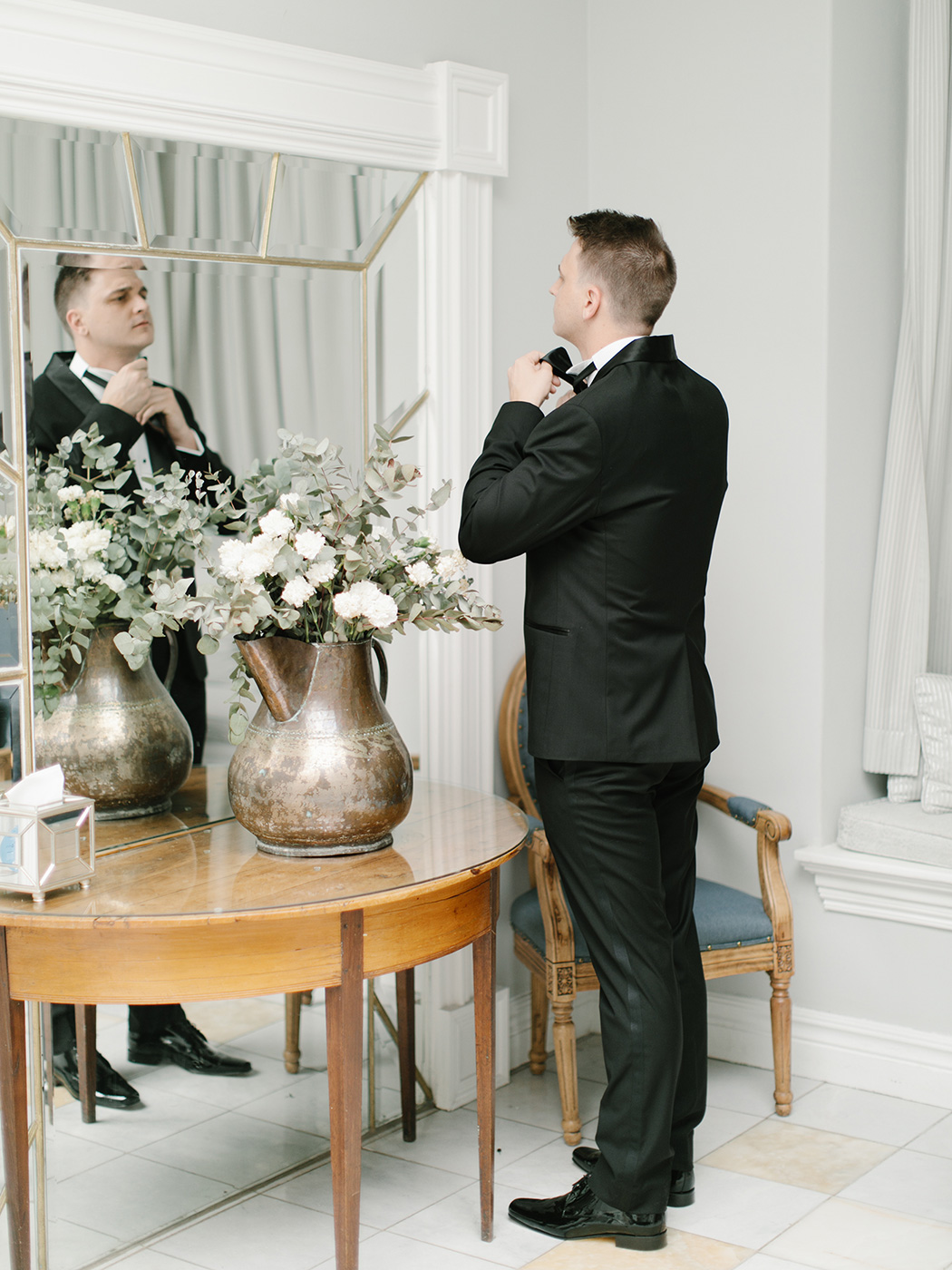 Groom Getting Ready | Rensche Mari Photography