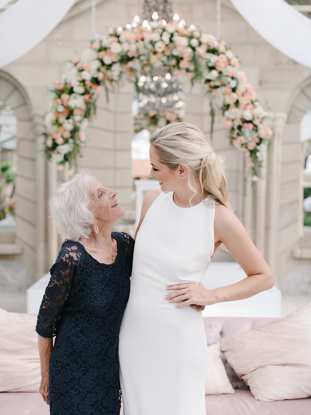 Grandma & Bride | Rensche Mari Photography