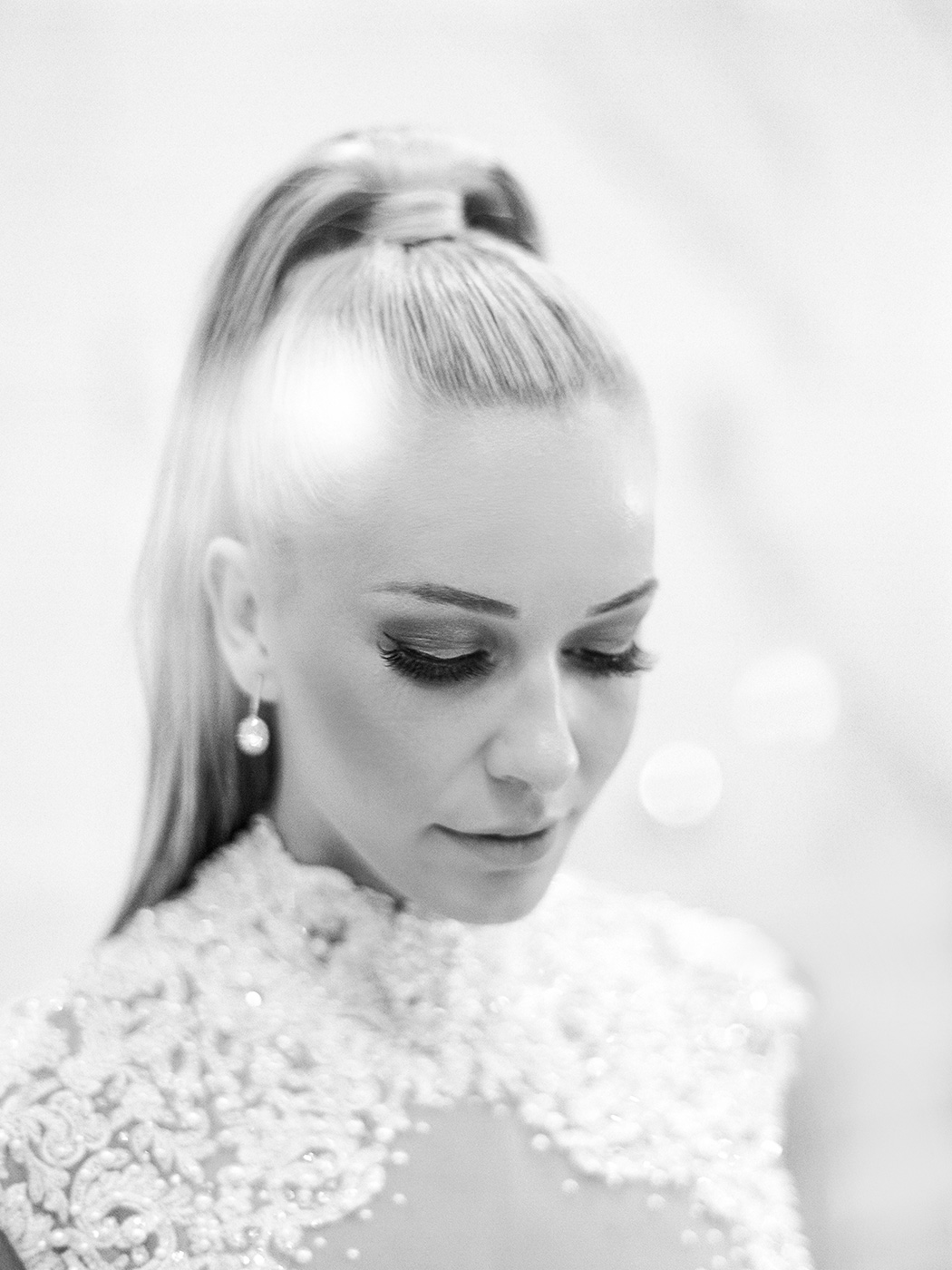 Ponytail Bride | Rensche Mari Photography