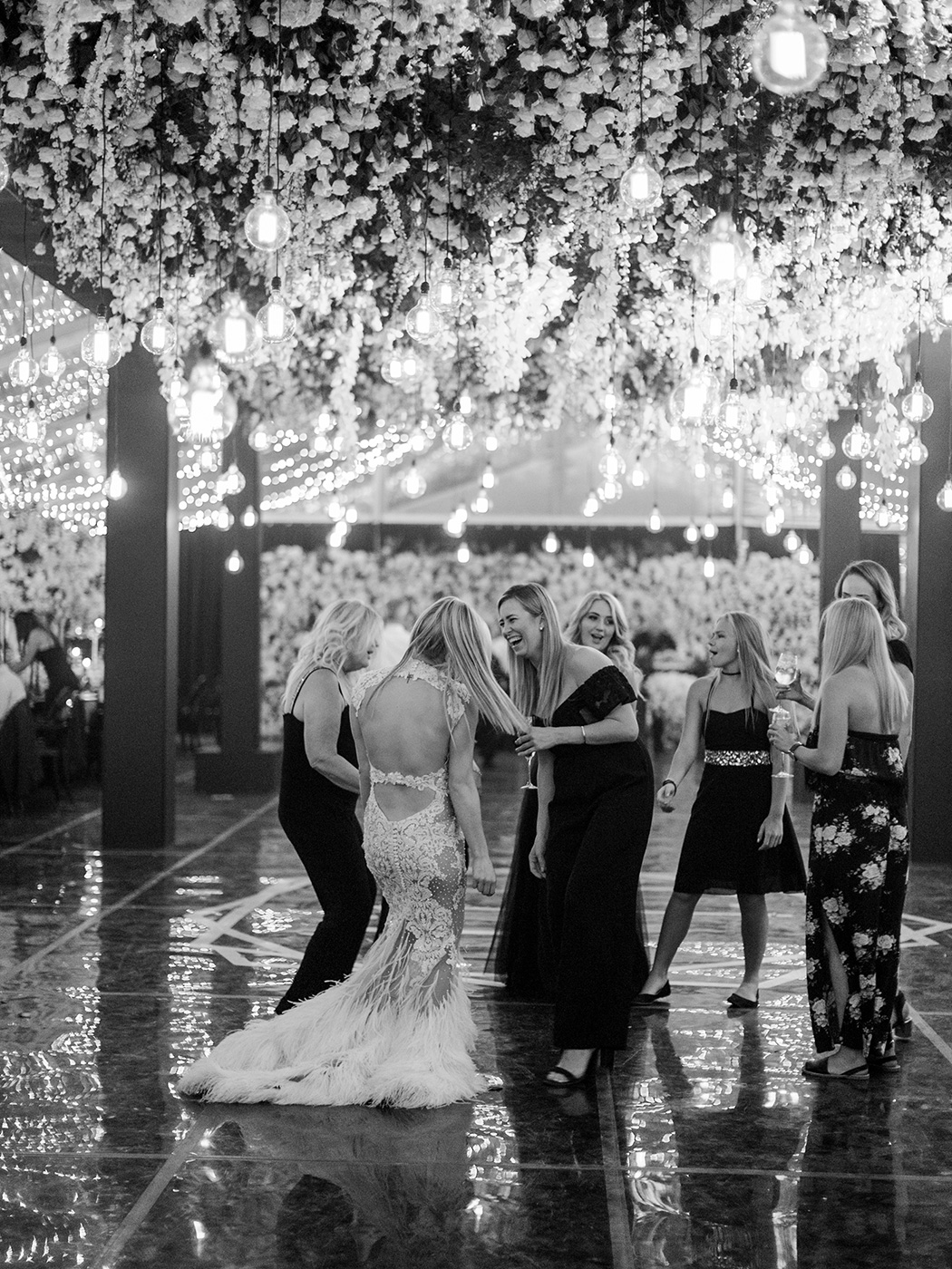 Magical Dance Floor | Rensche Mari Photography