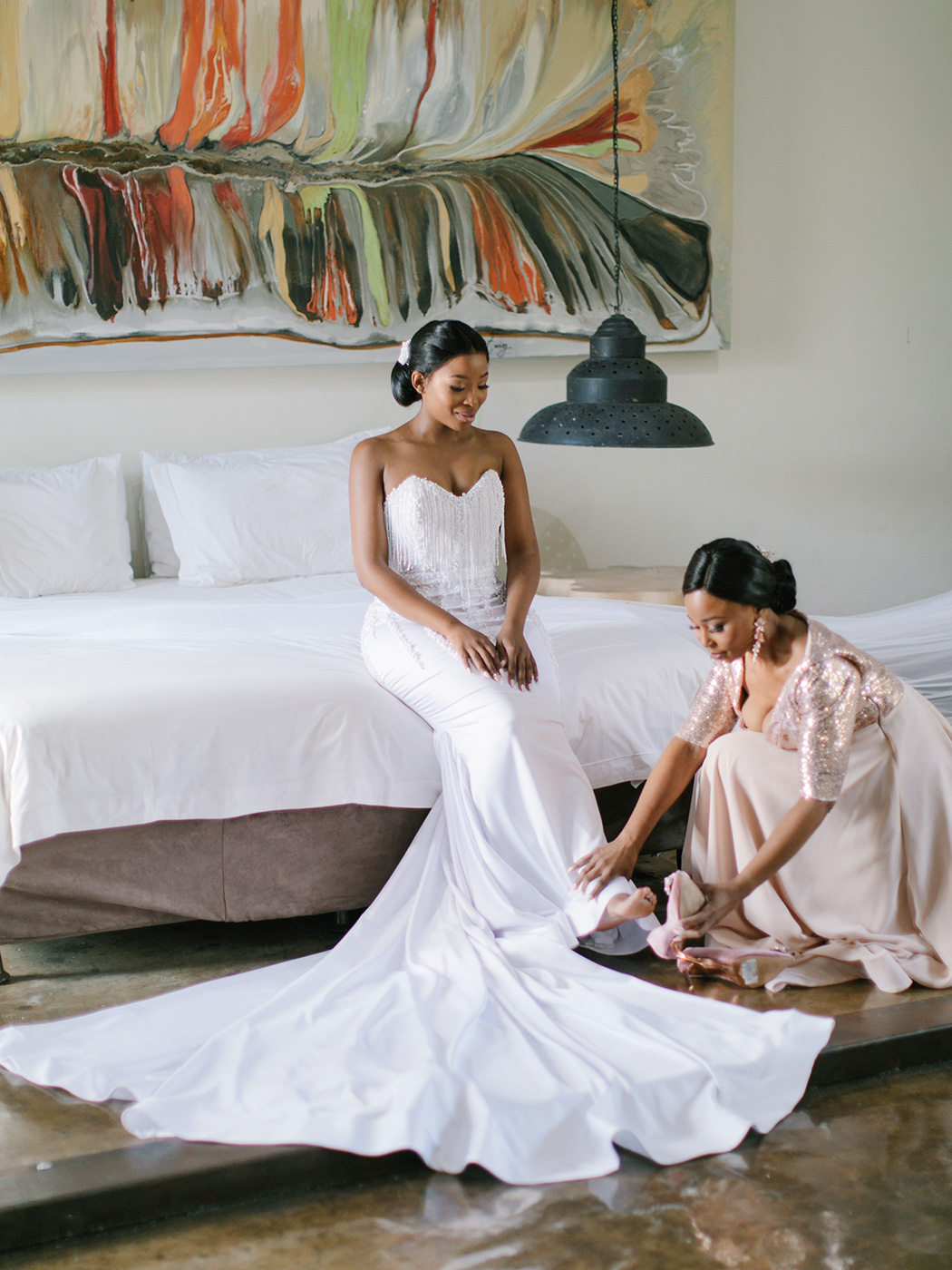 Getting Ready | Rensche Mari Photography