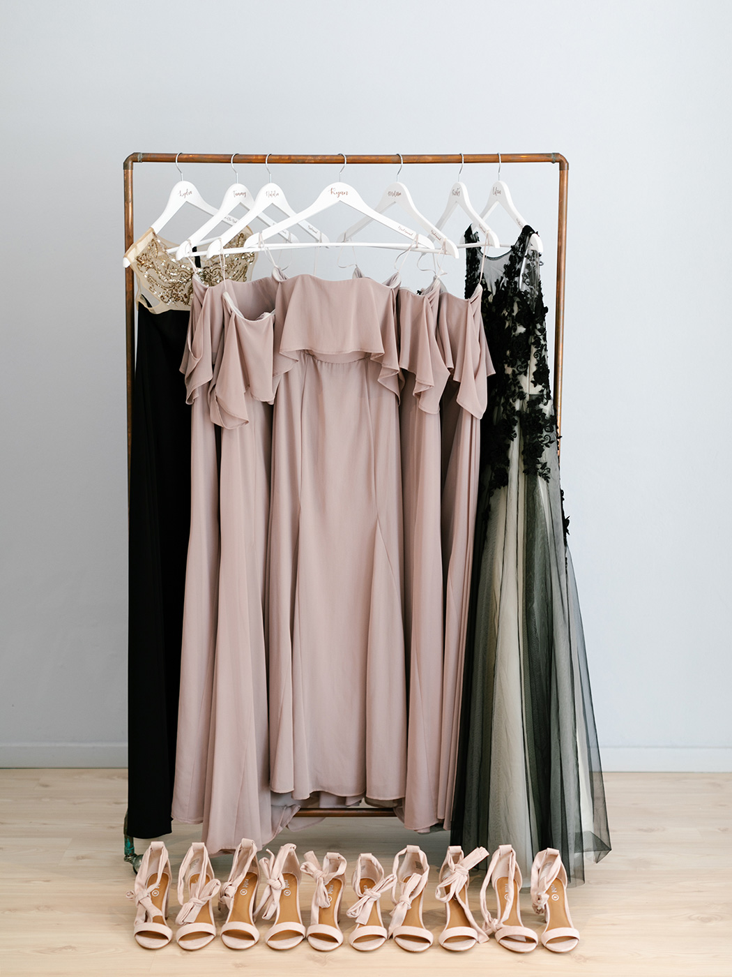 Wedding Wardrobe | Rensche Mari Photography