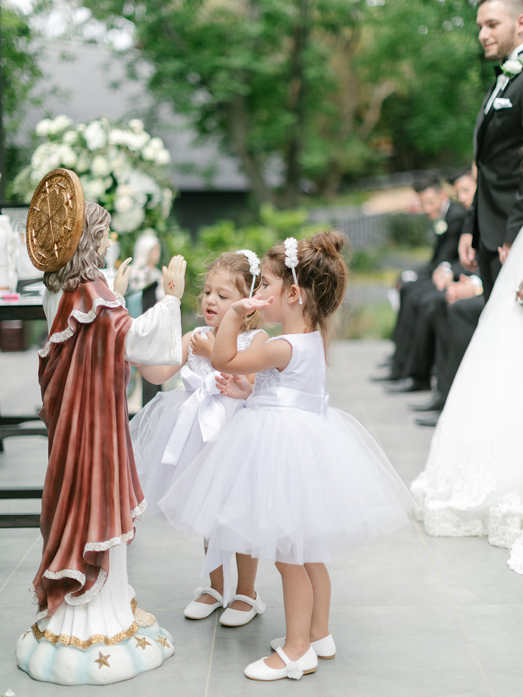 Cute Flowergirls | Rensche Mari Photography