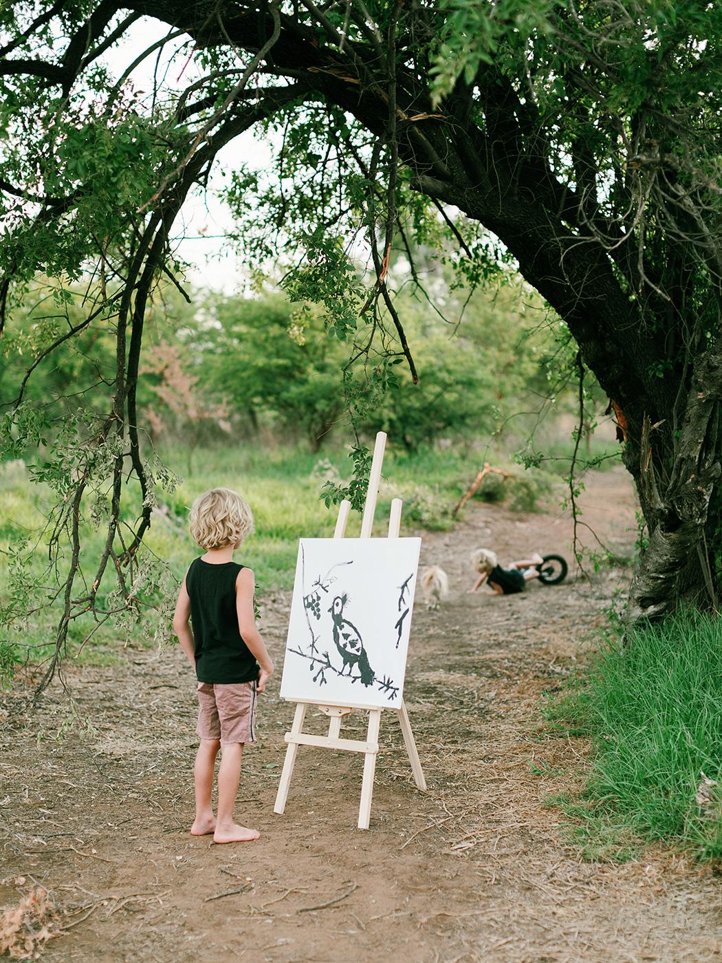Little Painter   Rensche Mari Photography