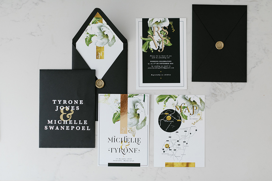 Chrystalace Stationery | Rensche Mari