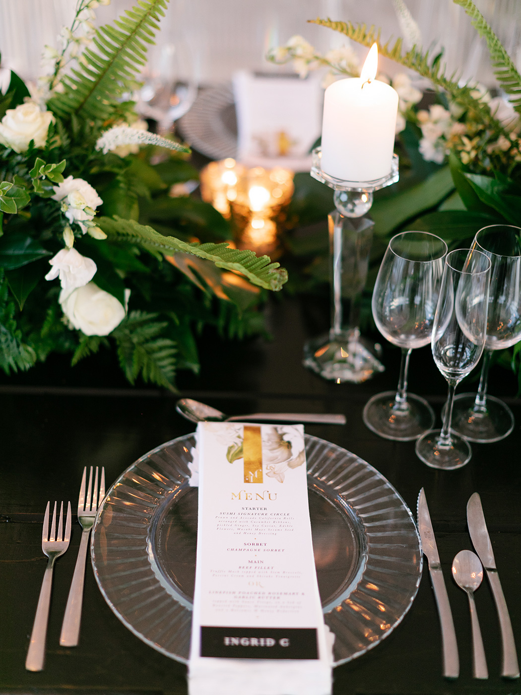 Table Decor - Zavion Kotze Events | Rensche Mari