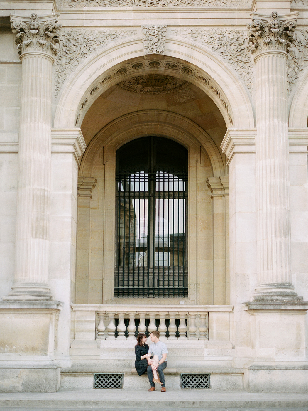 Louvre Couple Shoot   Rensche Mari