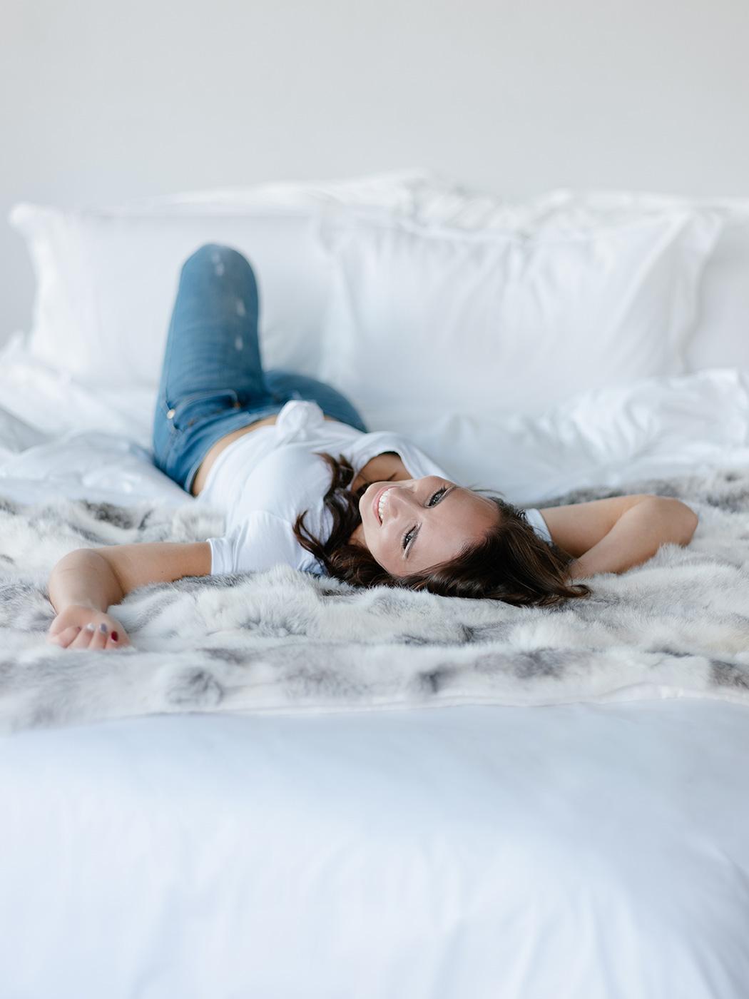 Sunday Morning Jeans & T-shirt | Rensche Mari