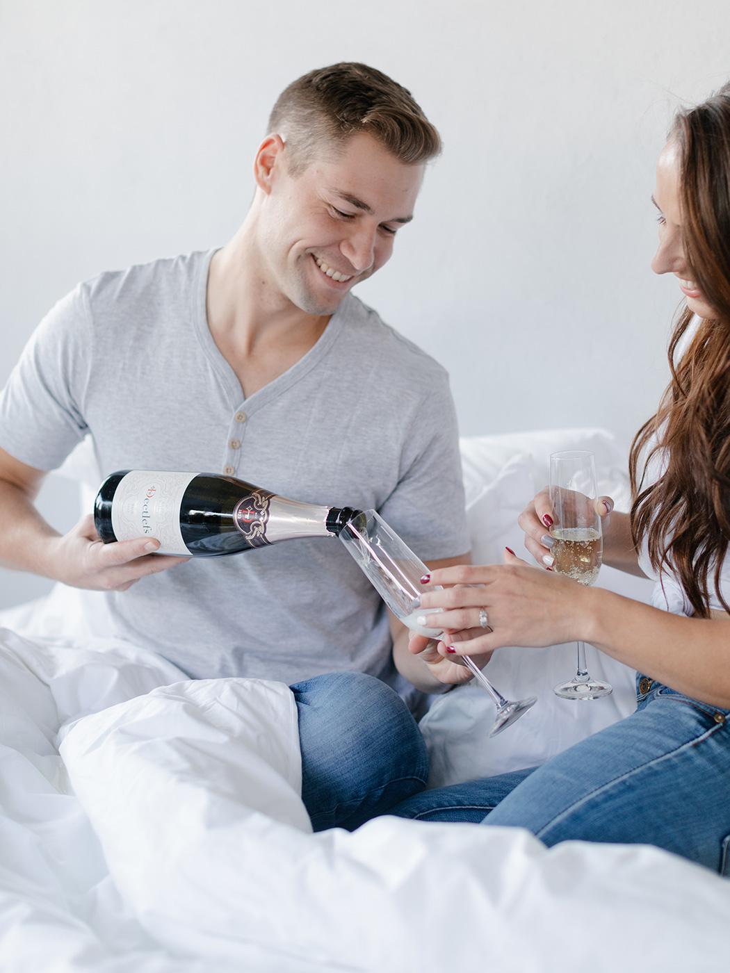 Pour the Champagne | Rensche Mari