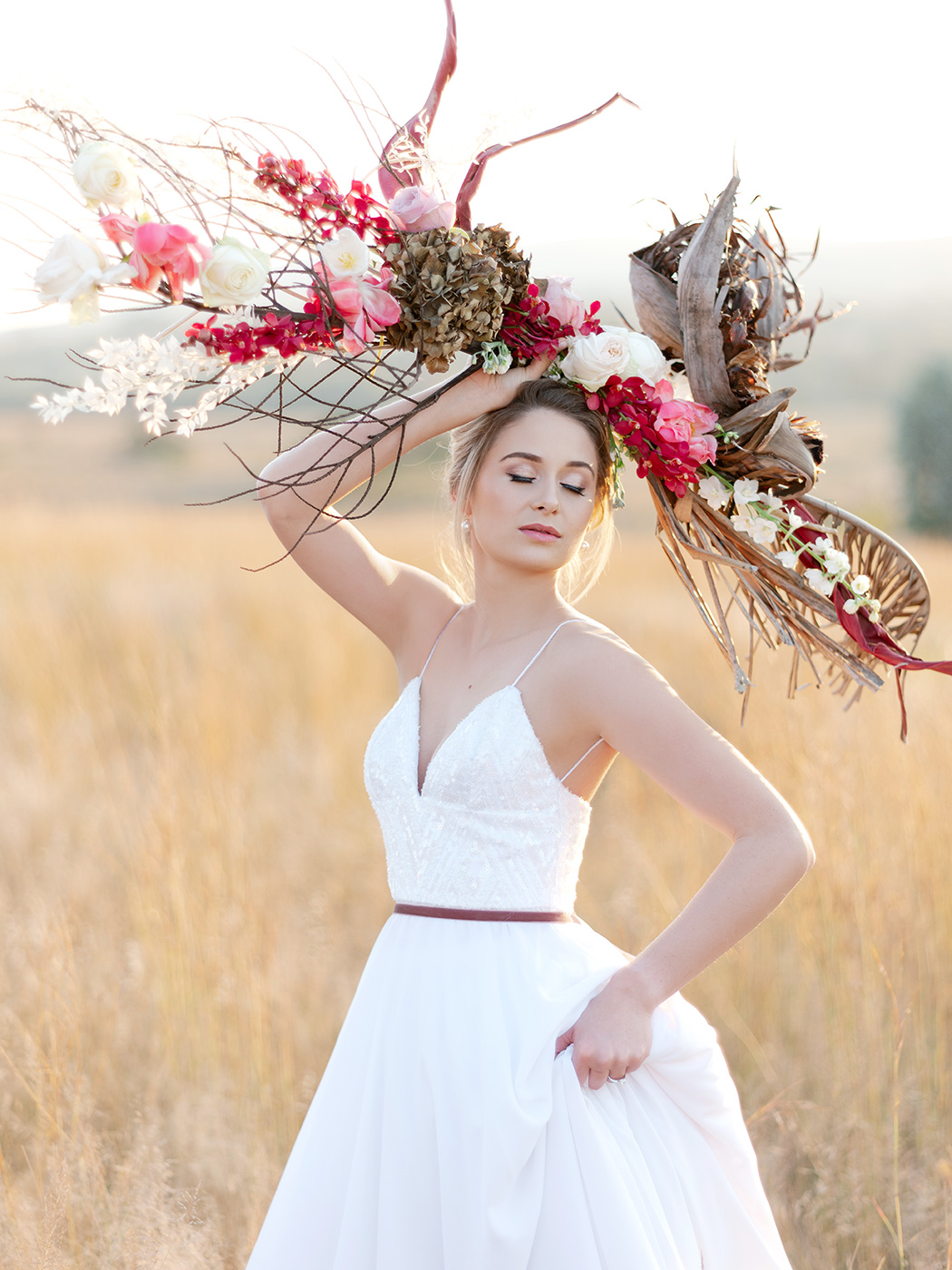 Floral Art by Zavion Kotze   Rensche Mari