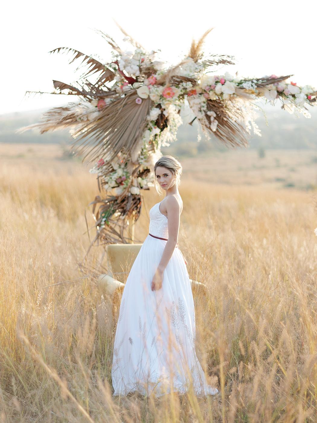 Flower Arch by Zavion Kotze | Rensche Mari