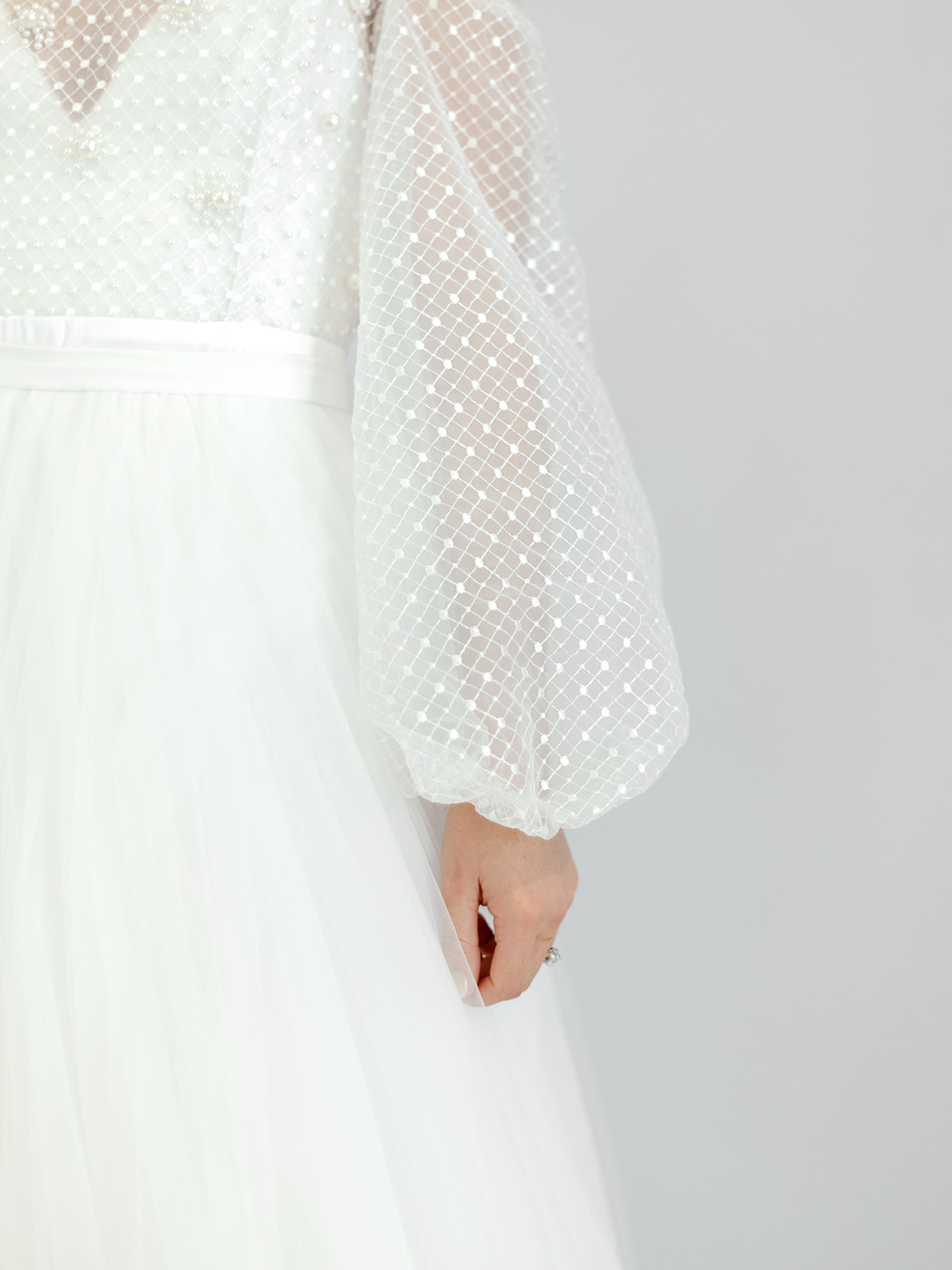 Romantic Wedding Dress by Elli-Nicole | Rensche Mari