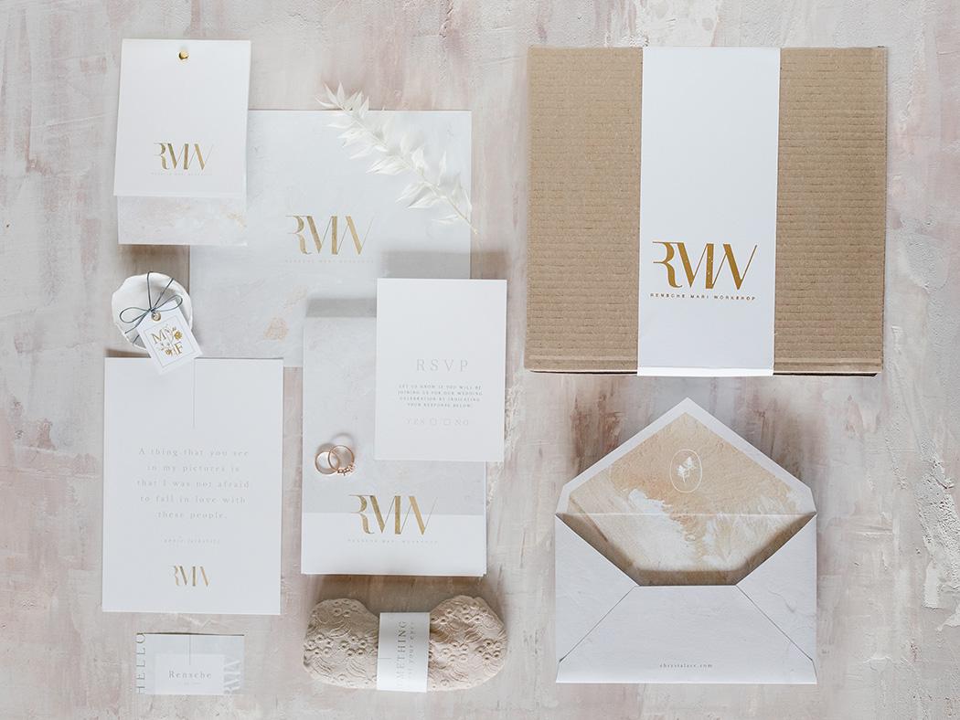 Chrystalace Stationery | Magnolia Finery Layflat and ceramics | Wedding Photography Workshop | Rensche Mari
