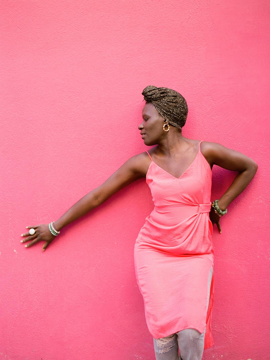 Pink Wall | Rensche Mari