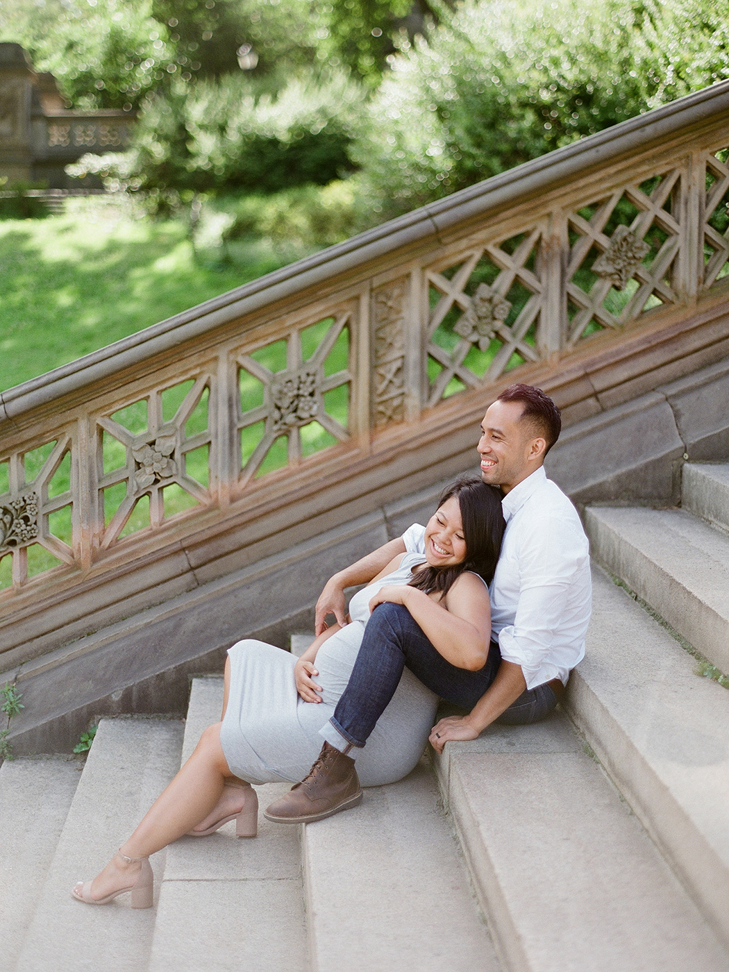 Central Park Pregnancy Session   Rensche Mari