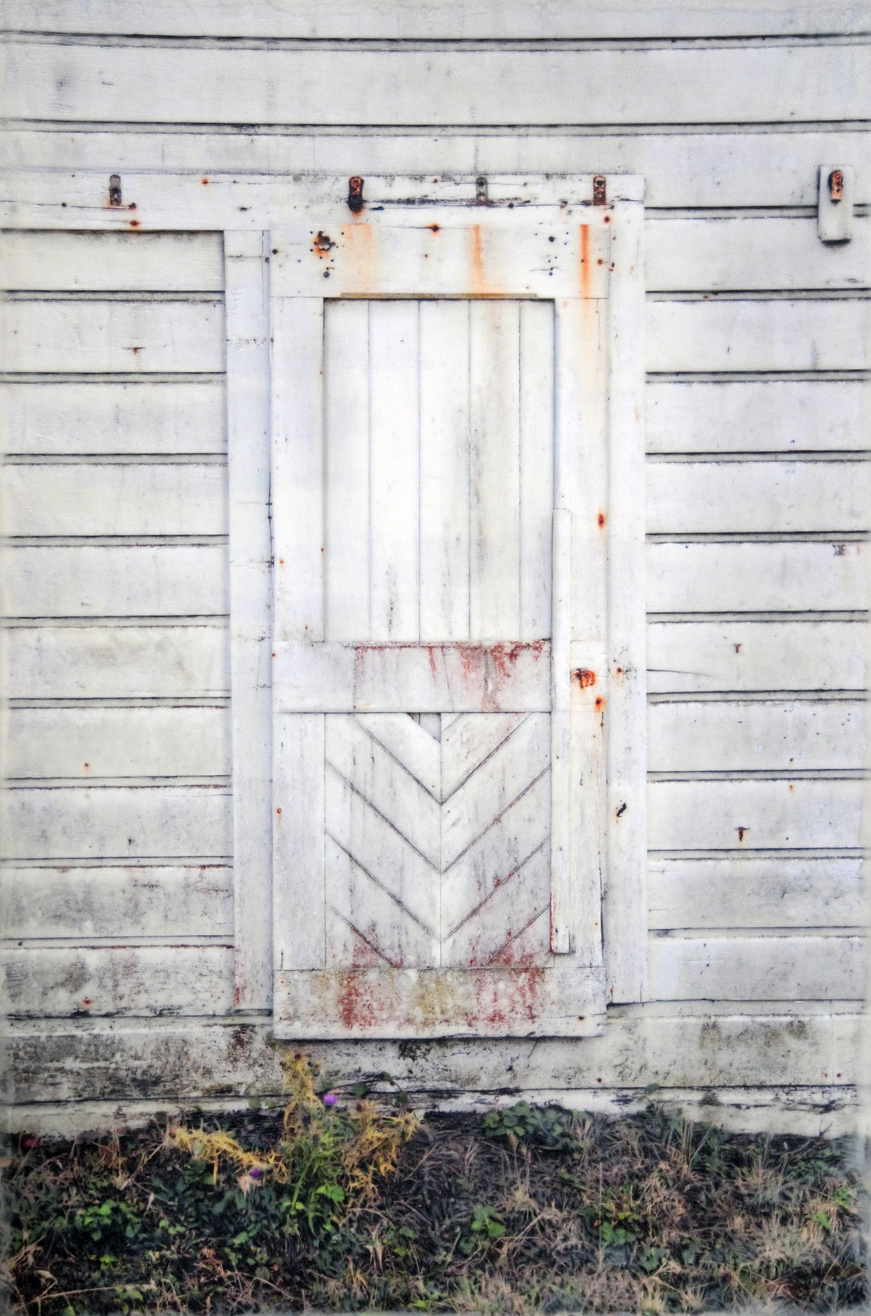 White Door   (20x30)