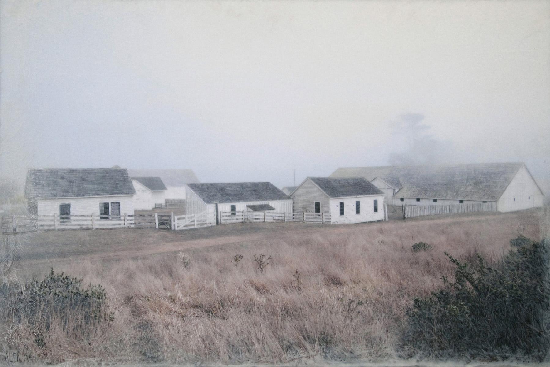 Pierce Point Ranch Scape   (20x30)