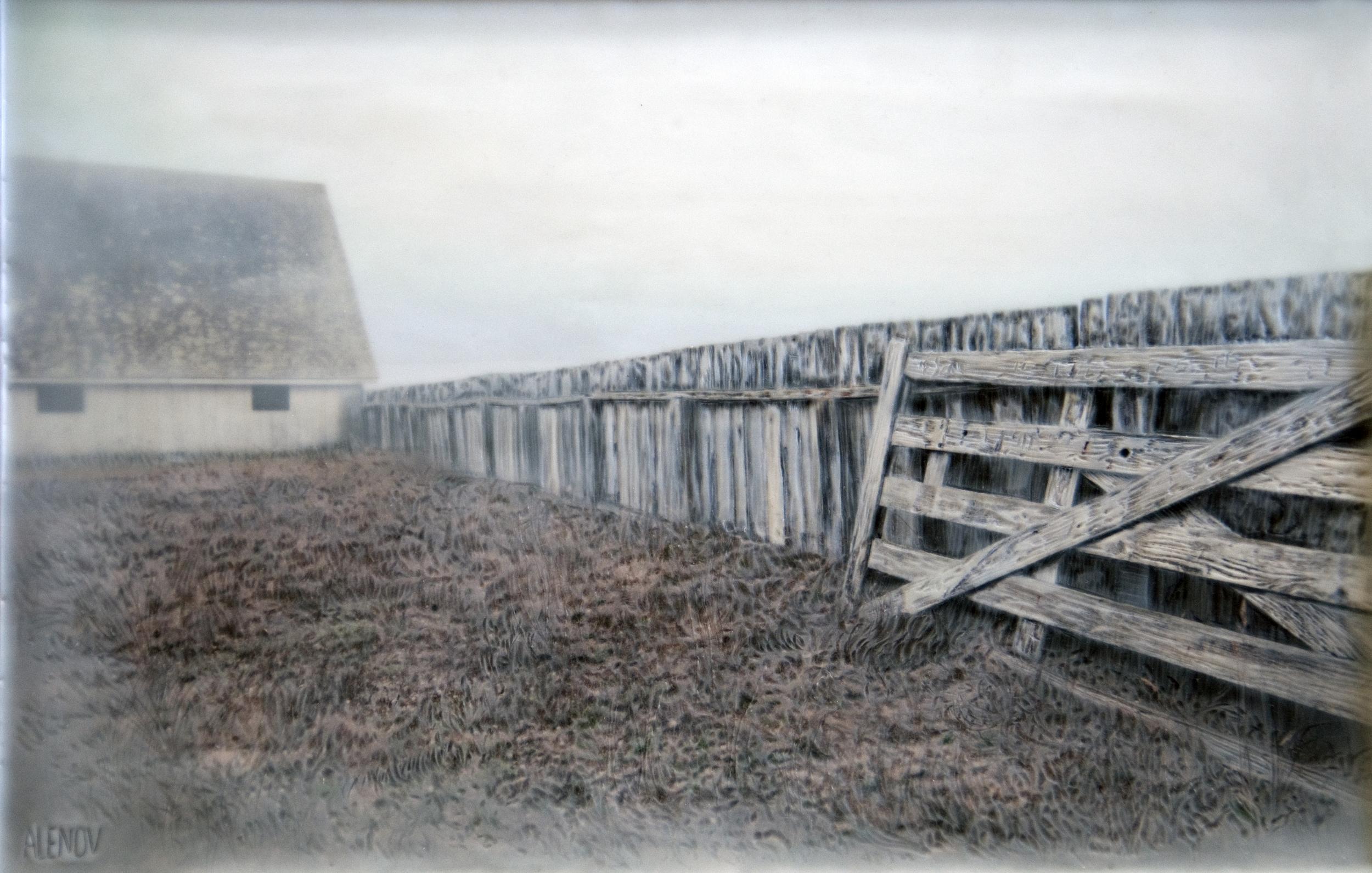 Fence   (11x16)