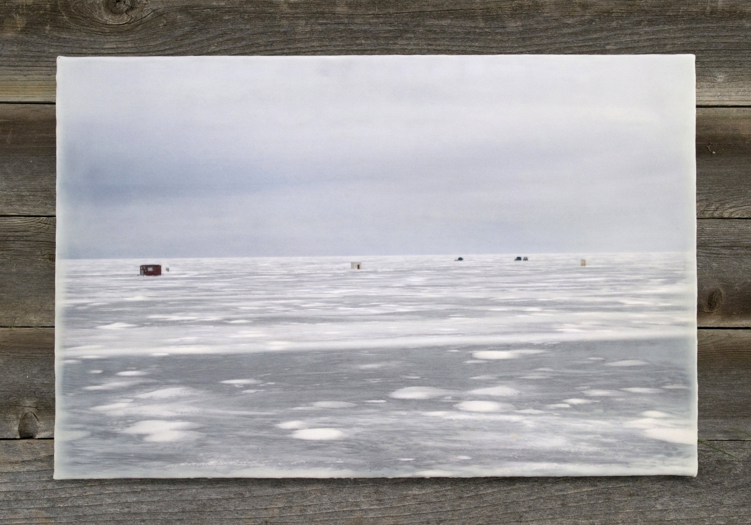 On the Frozen Lake   (20x30)