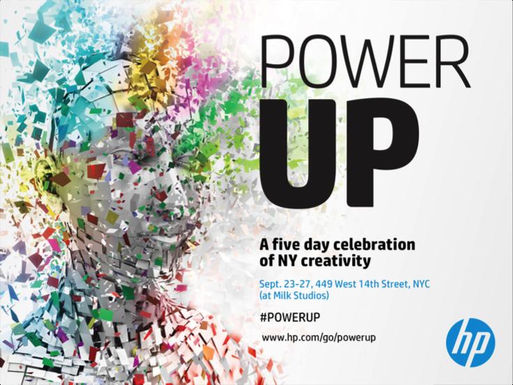 HP's POWER UP Festival