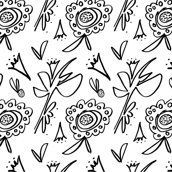 #30 - Floral | HeatherRoth.com/experiments