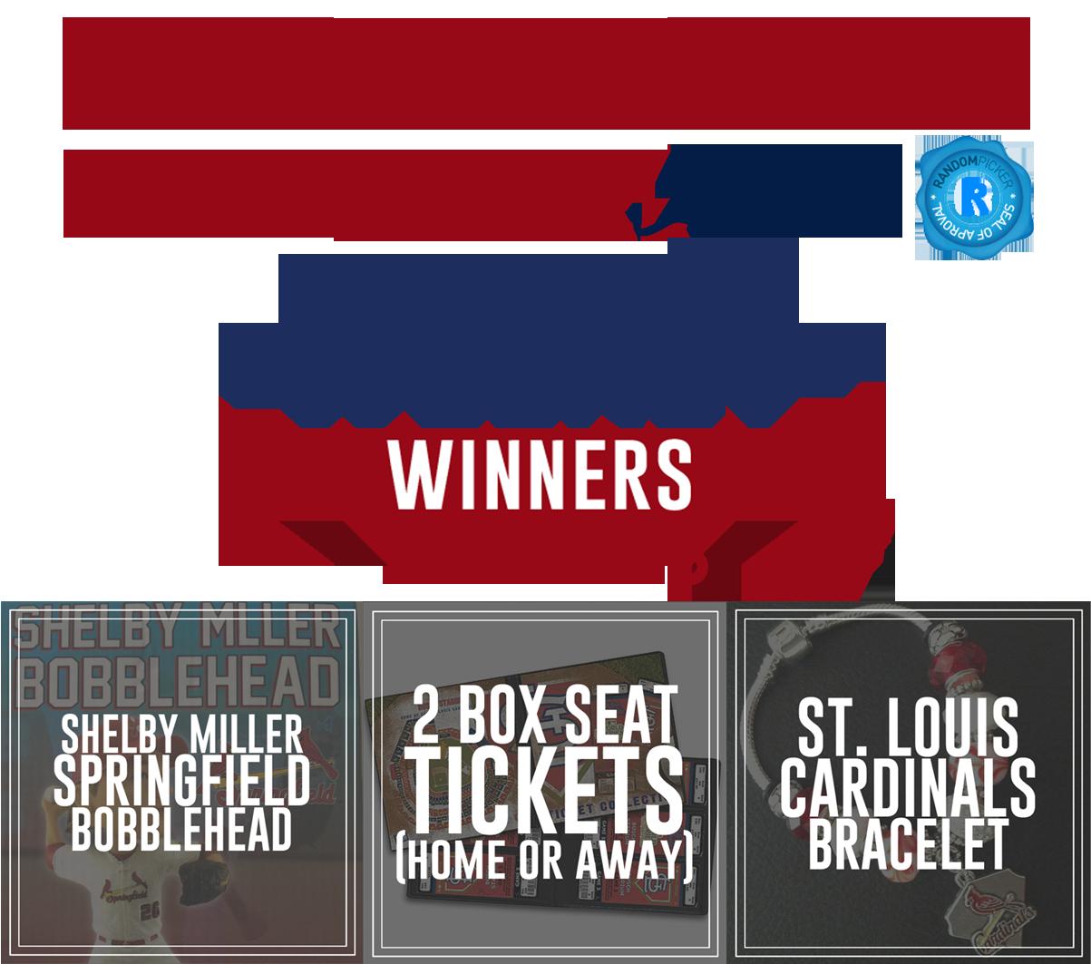 Congratulations Week 3 Winnners