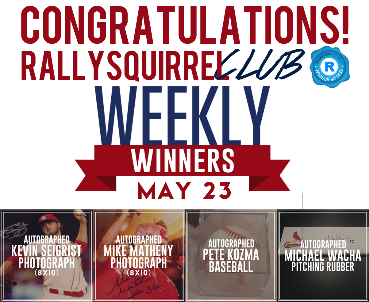 Congrats to the Winners!