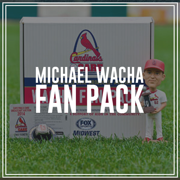 *Each fan pack comes with a Michael Wacha 2013 National League Championship Series MVP Bobblehead, a replica 2013 National League Champions Ring, and a 2014 ticket voucher good for two tickets to a regular season home game.