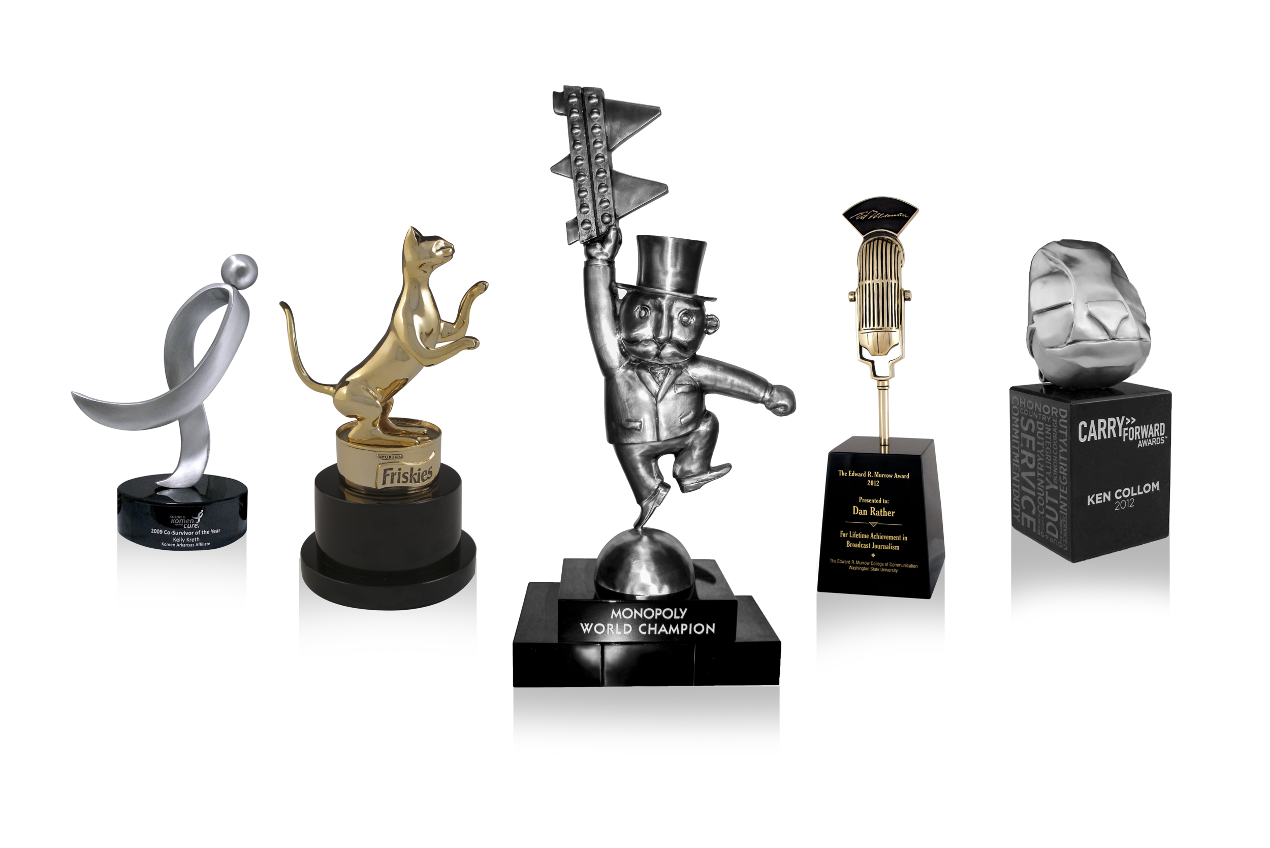 Give Custom Business Trophies in Your Next Awards Banquet