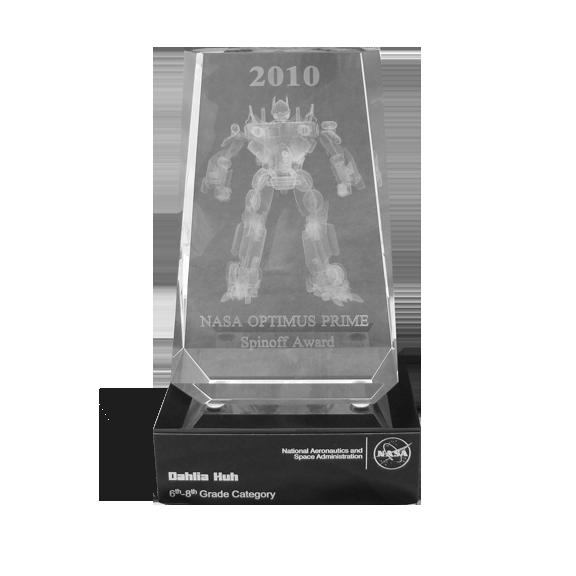 NASA Optimus Prime Awards