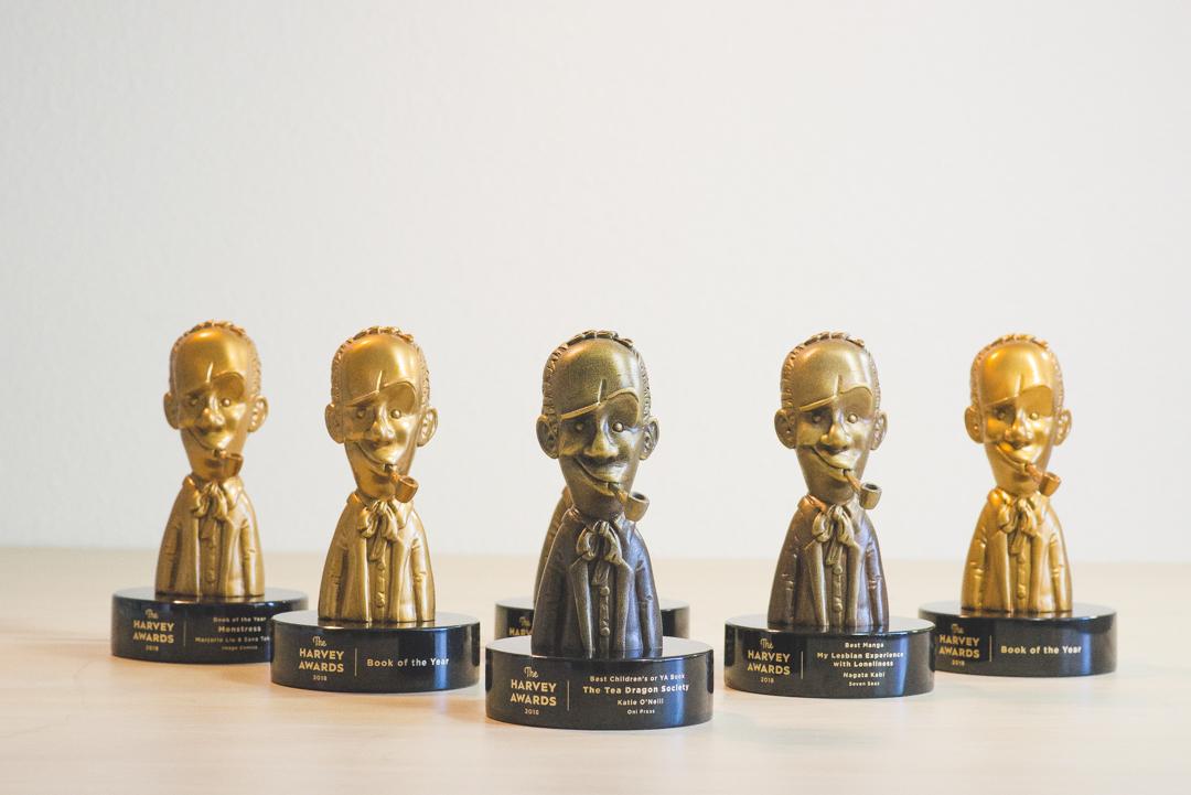 Bennett Awards Creates Custom Awards for the 'Harvey Awards'