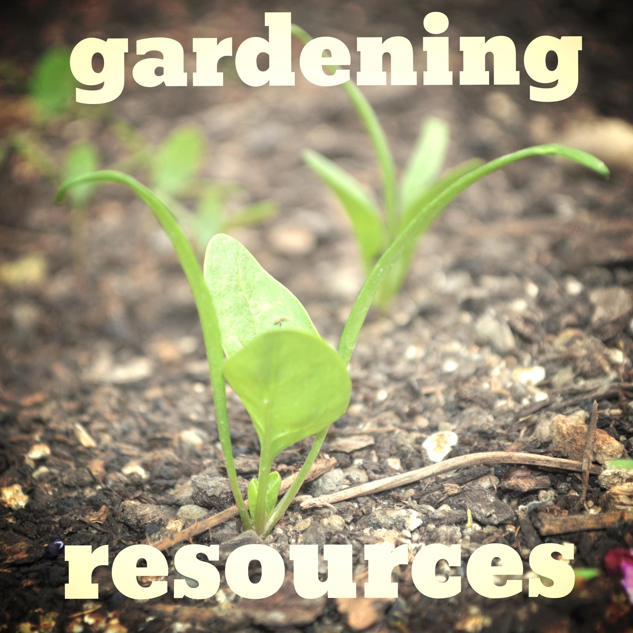 GardeningResources