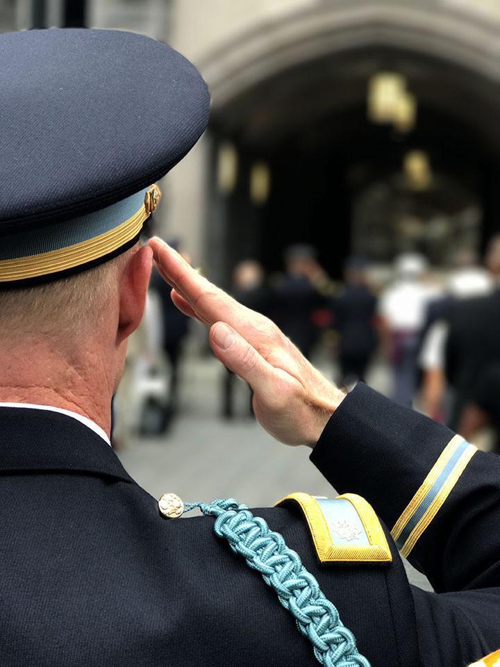Dedication Day, B.O. Davis Barracks