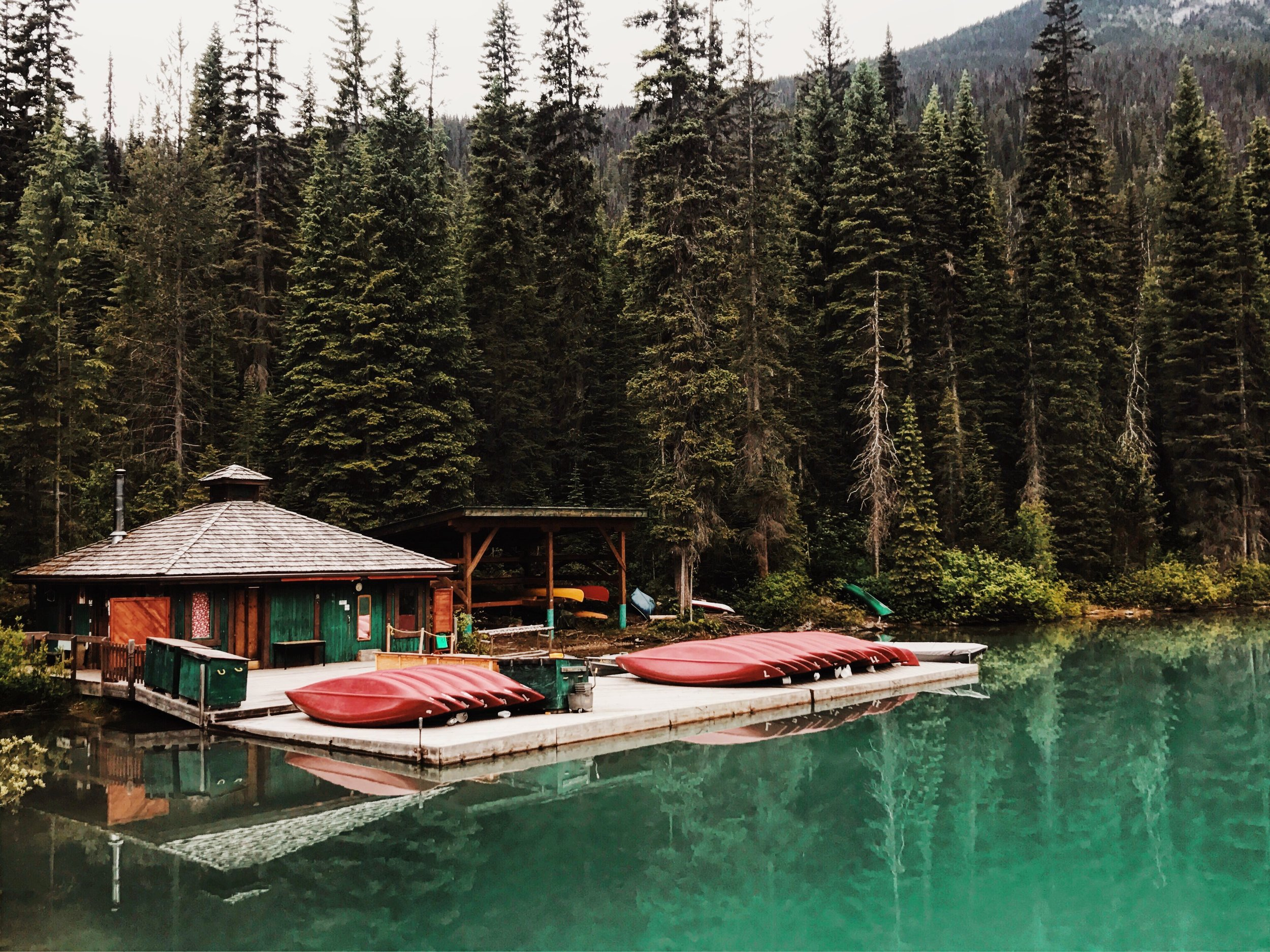 Emerald Lake. Photo by Antrom Kury.