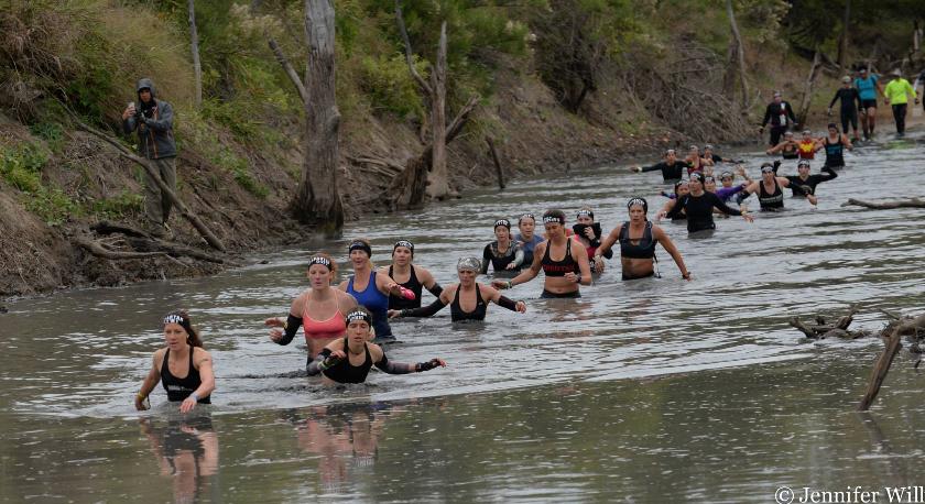 Sledging through the swamp [o] Jenn Willis