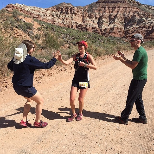 ONE MORE WEEK! till this lady toe's the line in the most exciting 100 miler out there. Words can't tell you how excited Jesse and I to be there with you from start to finish. I'm gunna give you so many high fives! #westernstates100  #katfromcanada