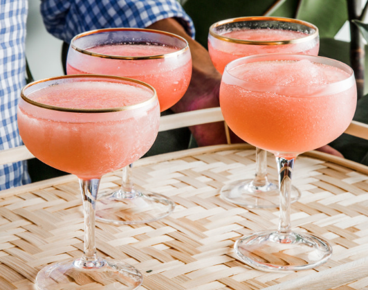 Hannah:  Frose is my jam this summer thanks to my cocktail-savvy friend Mary Beth