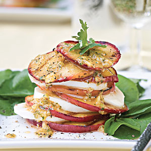 Catherine:  Refreshing and summery twist on the traditional caprese salad