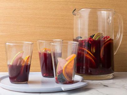 Catherine: Sangria is refreshing, easy to make and makes a large amount so it's perfect for a group on the   4th of July  .