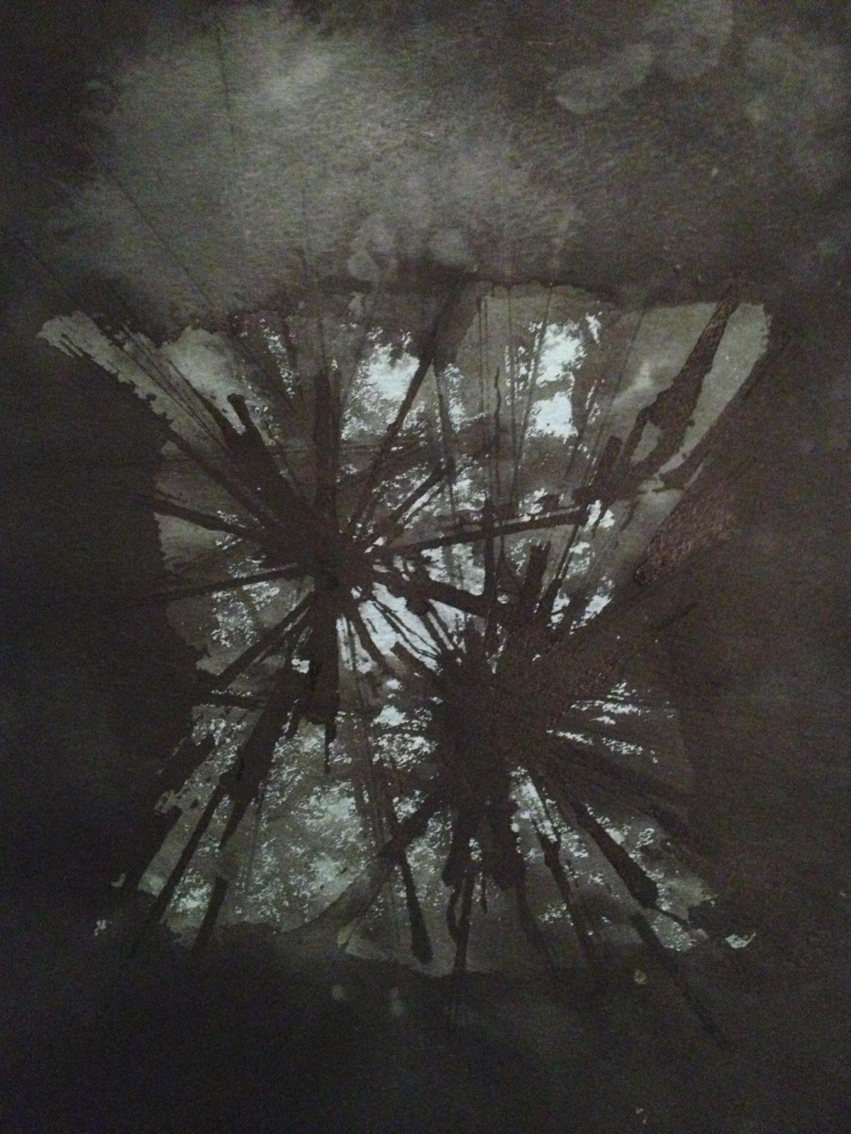 XX, sumi ink, 2014