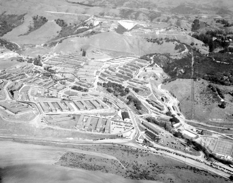 Oak Knoll circa 1946 (California State Military Museum)