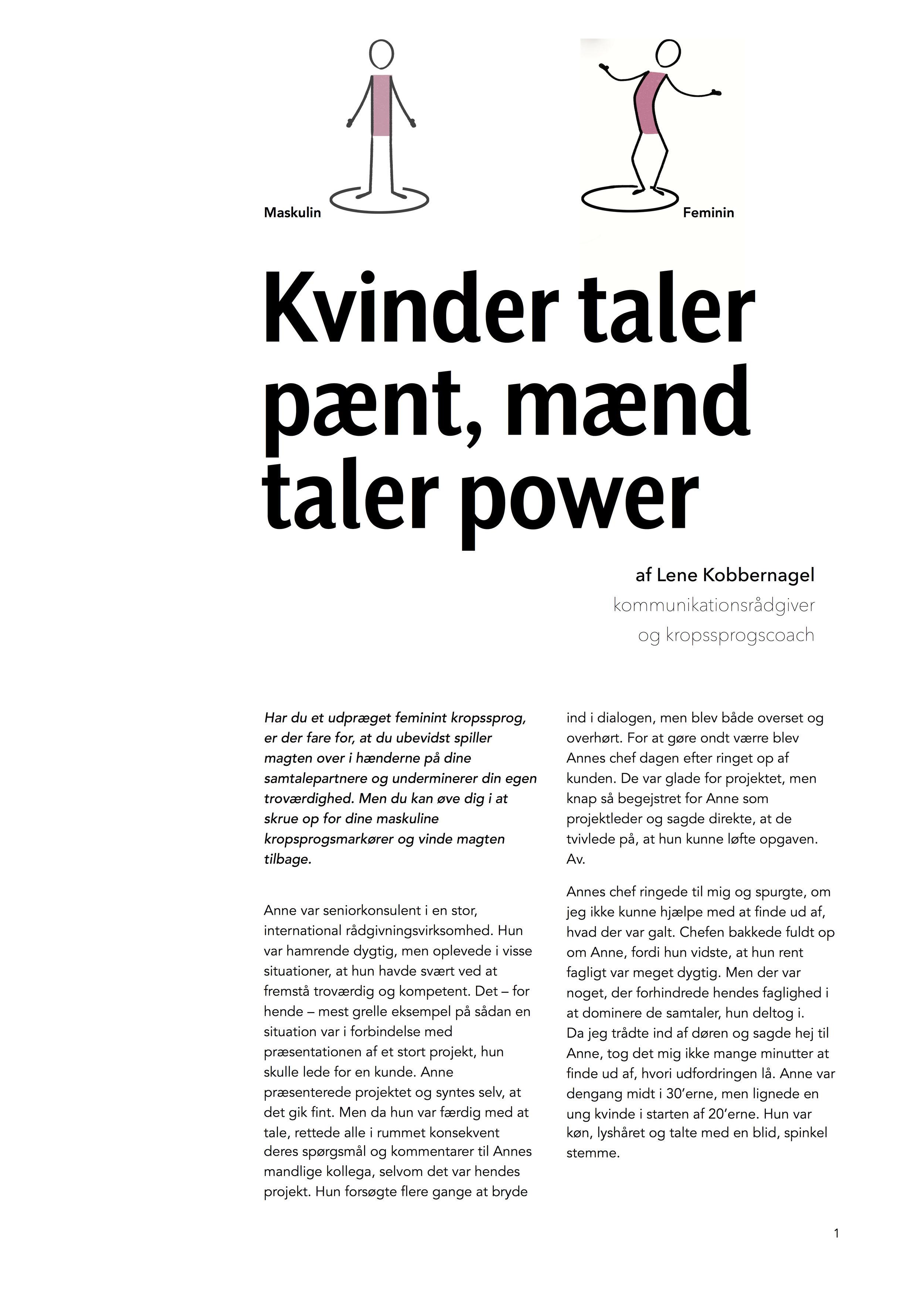 Lene_Artikel_Kvinder tæler pænt, mænd taler power.jpg