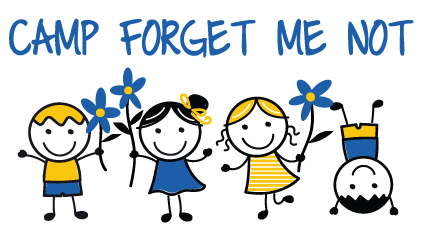 Camp Forget Me Not Logo