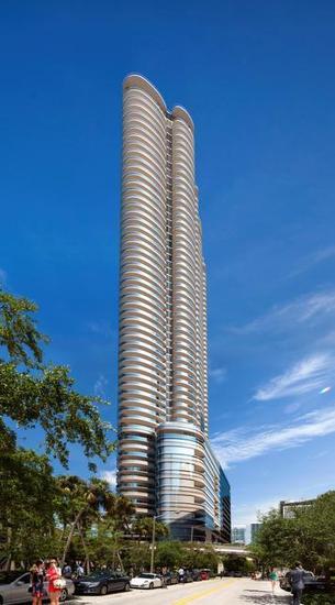 Brickell Flatiron Condo rendering