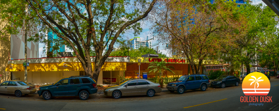 Site with the Chicken Kitchen and Latin American Cafe.