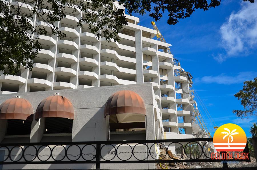 Grand Bay Hotel Coconut Grove Demolition