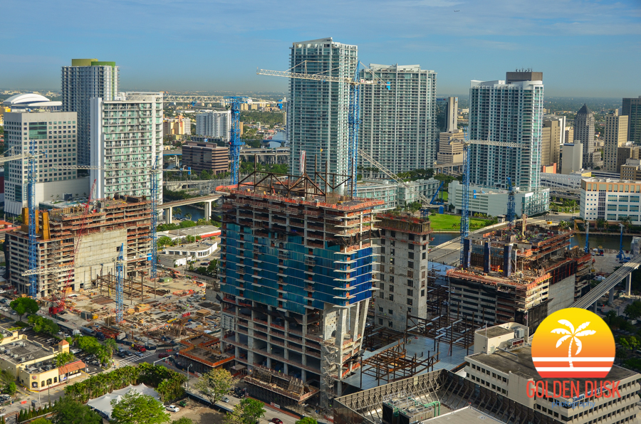 Brickell City Centre Overview During the Day
